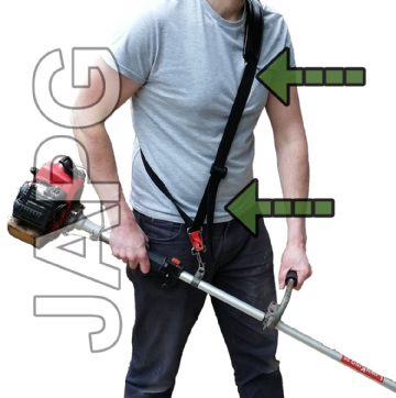Trimmer, Strimmer, Brush Cutter Adjustable Single Shoulder Strap Harness Holder